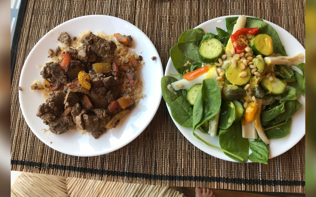 Chicken Liver and Bell Peppers Recipe
