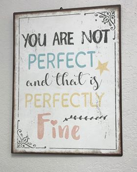 """You are NOT Perfect and that is Perfectly Fine"" Reaching your Optimal Physical and Mental Health"