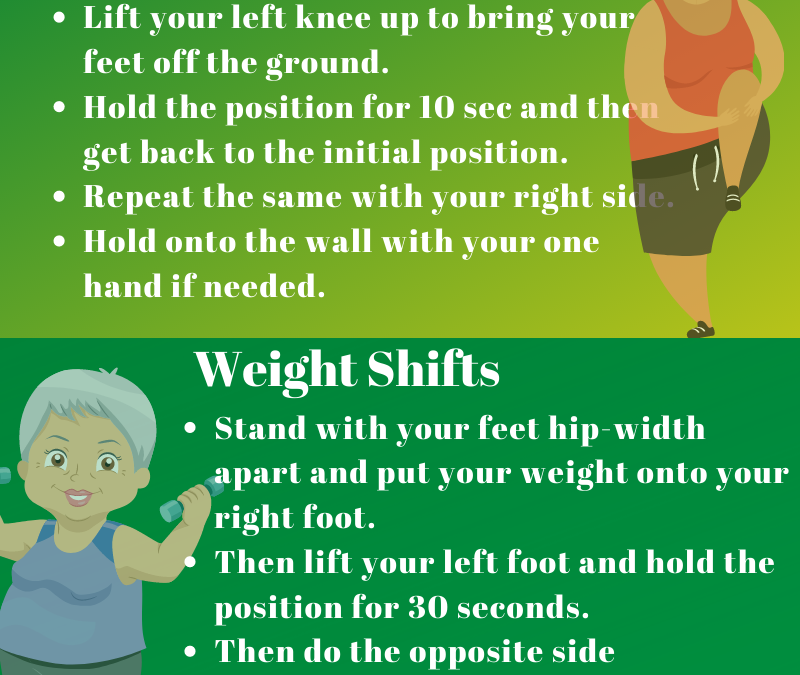Physical Therapy for Seniors: Top 5 Powerful Balance Exercises- Guest Post