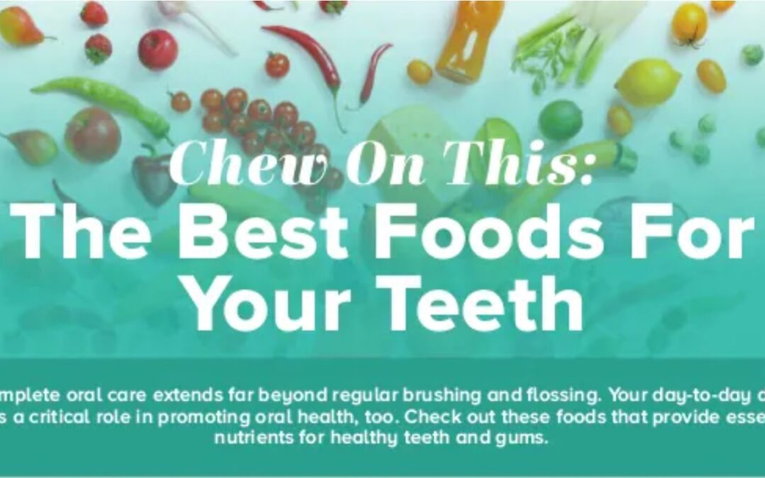 Foods That Can Benefit More Than Your General Health- Guest Post and Infographic